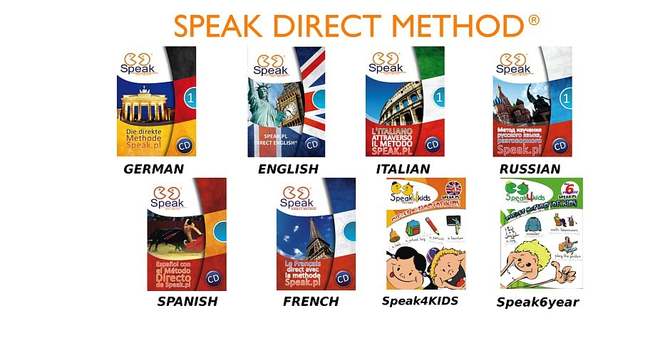 Speak DIRECT METHOD books